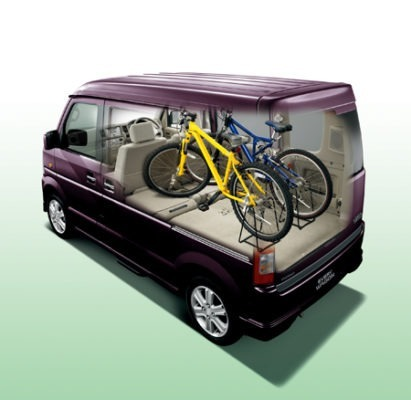 Suzuki Every Wagon cargo Capacity view