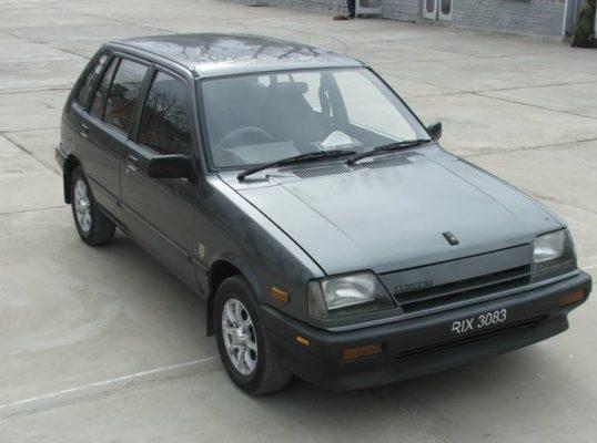 Suzuki Khyber Front view