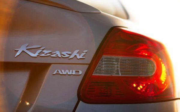 Suzuki Kizashi Rear Tail Light Close view