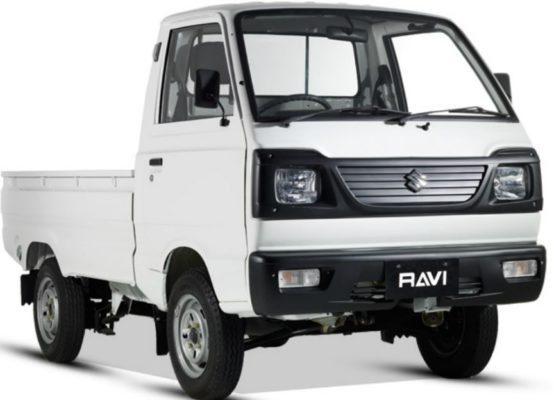 Suzuki Ravi front view