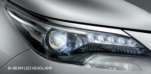 Toyota fortuner 2nd generation headlamps