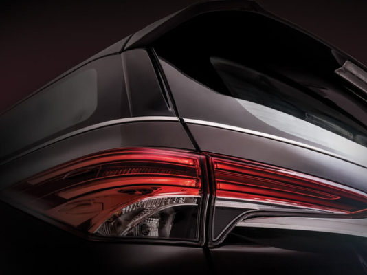 Toyota fortuner 2nd generation led tail lamps