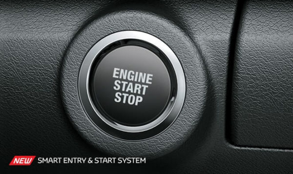 Toyota fortuner 2nd generation start stop button