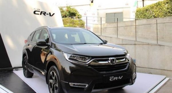 updated BS6 Comply Honda CR-V has price tag of 28.27 lac INR