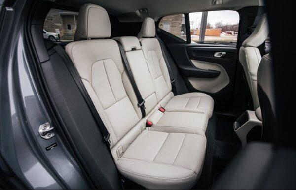 2020 Volvo XC40 Rear Seats