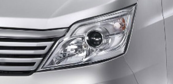 Changan M9 Pickup Truck headlamps view