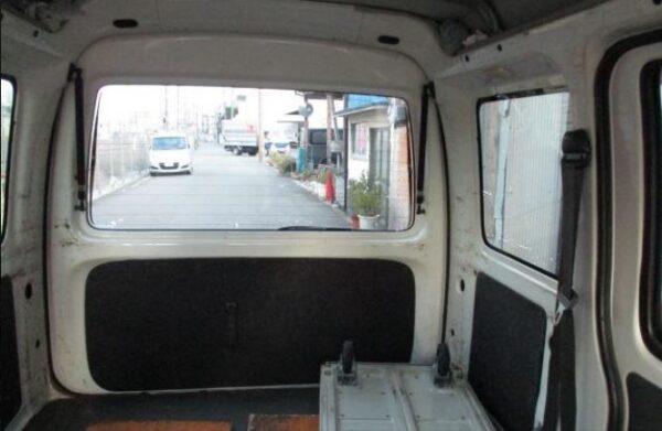 Daihatsu Hijet cargo area view