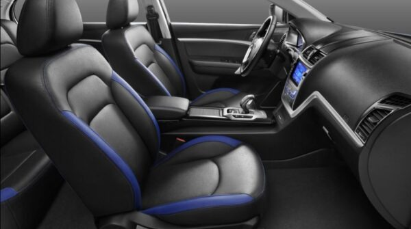 Emgrand EV front comfortable seats view