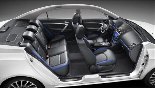 Emgrand EV full interior view