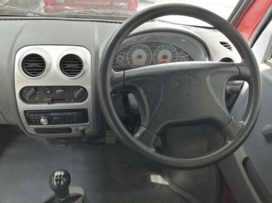 FAW XPV front cabin interior view