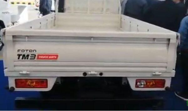 Foton TM 3H Rear Side View