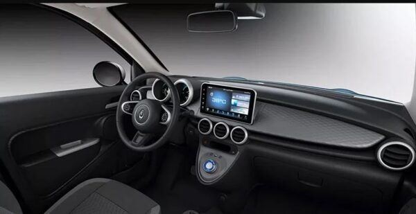 ORA R1 EV front dashboard and features view