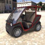 Info Squad Solar City Car 2 Seated 2021 USA