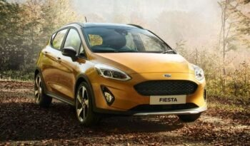 2021 Ford Fiesta orange feature image