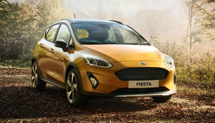 2021 Ford Fiesta orange feature image