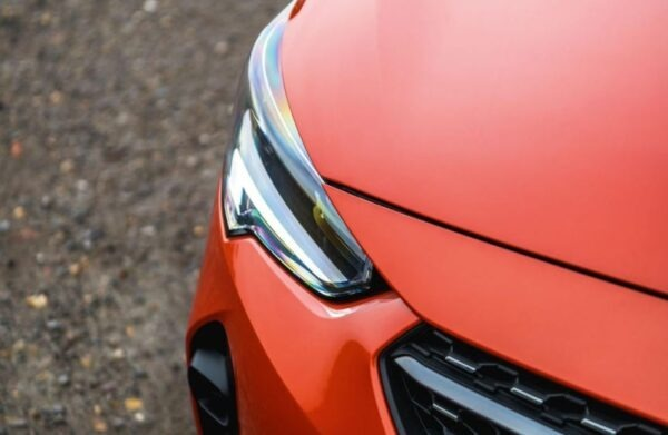 6th Generation Vauxhall corsa front headlamps view