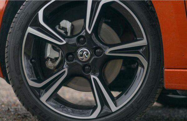 6th Generation Vauxhall corsa wheels view