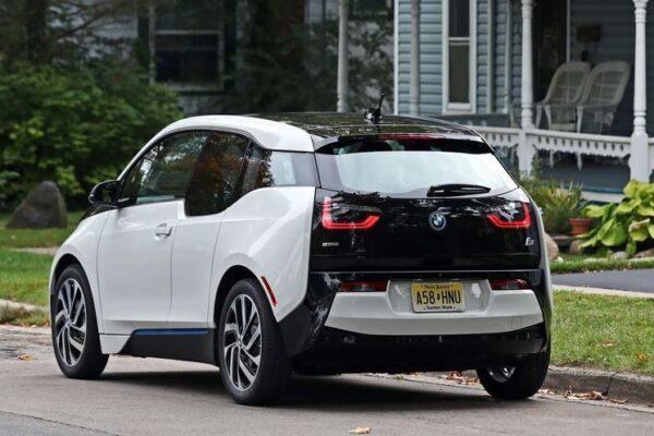 BMW i3 REX Rear View