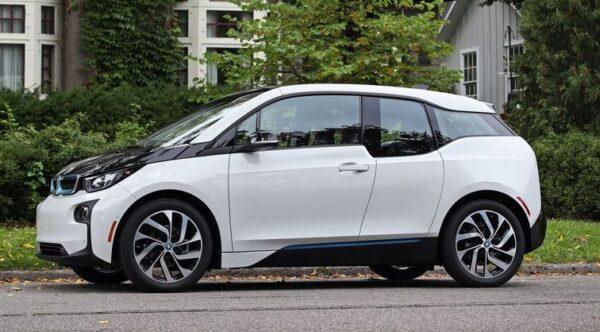 BMW i3 REX Side View