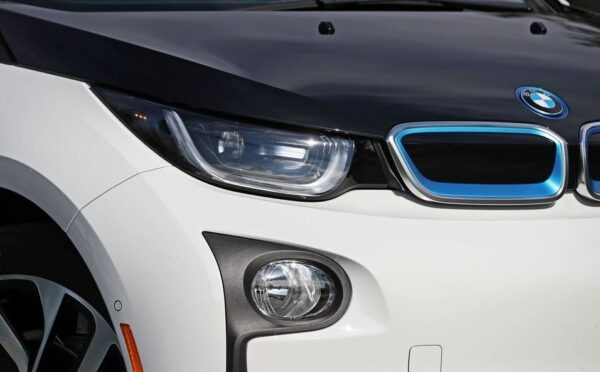 BMW i3 REX front head and fog lamps