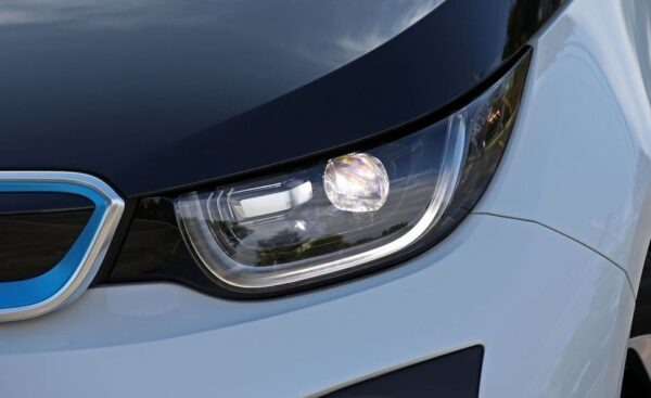BMW i3 REX front headlamps view