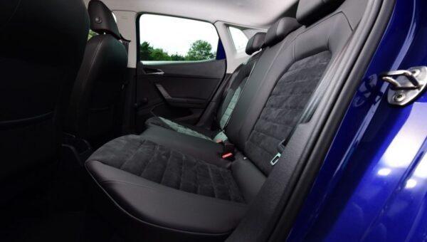 SEAT Ibiza 5th Generation Rear seats view