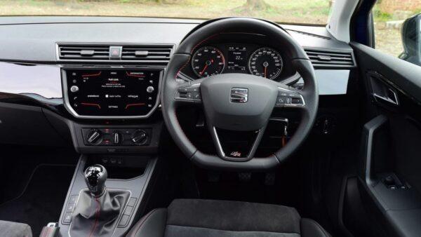SEAT Ibiza 5th Generation front cabin interior