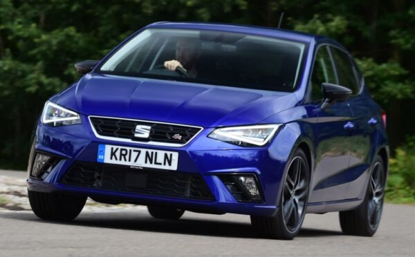 SEAT Ibiza 5th Generation front view