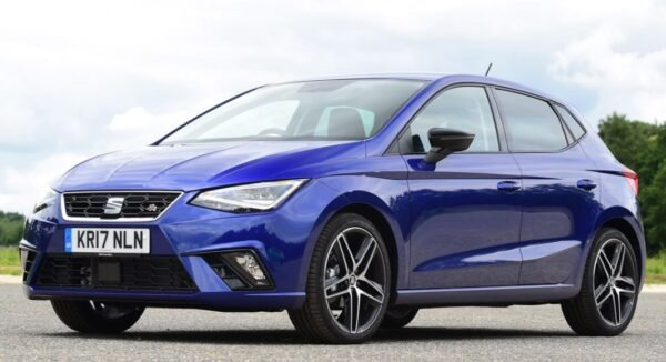 SEAT Ibiza 5th Generation full view from front