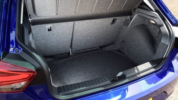 SEAT Ibiza 5th Generation luggage area view
