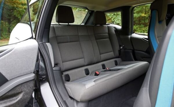 bmw i3 Rex Rear seats view