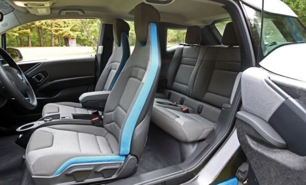 bmw i3 Rex full interior cabin view