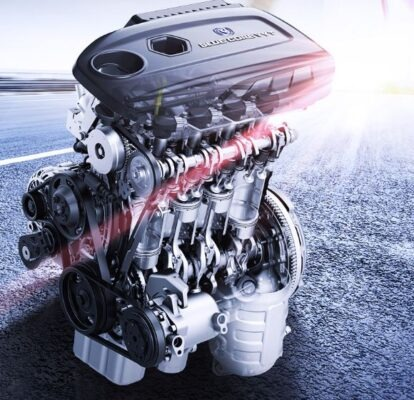 changan Alsvin 3rd Generation blue core engine view