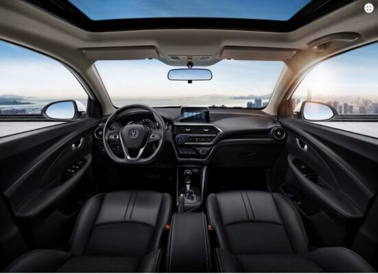 changan Alsvin 3rd Generation full front cabin interior view