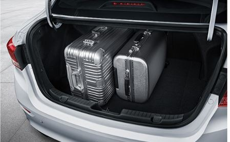 changan Alsvin 3rd Generation luggage area view