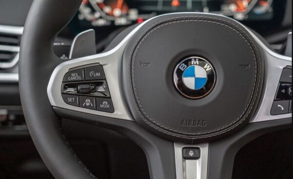 1st Generation BMW X7 SUV steering wheels button controls view