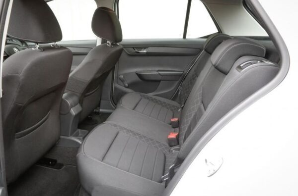 3rd Generation Skoda Fabia Rear Seats view