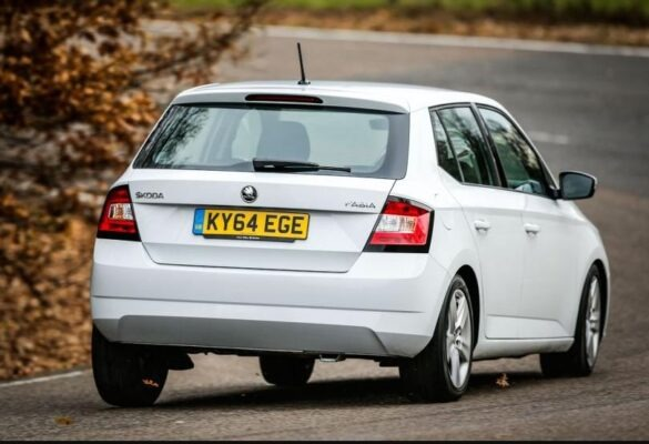 3rd Generation Skoda Fabia Rear view
