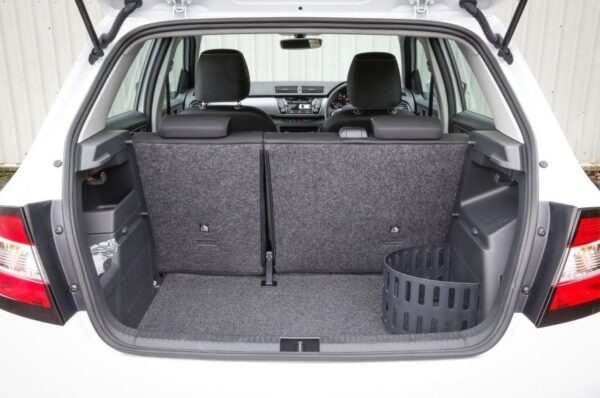3rd Generation Skoda Fabia luggage area view