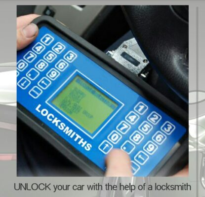 unlock your car with help of laocksmith