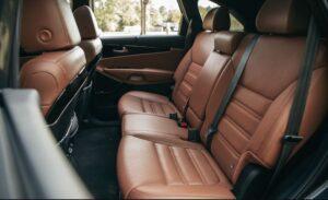 3rd Generation Kia Sorento Rear Seats view