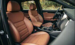 3rd Generation Kia Sorento front seats view