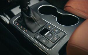 3rd Generation Kia Sorento interior controls
