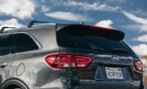 3rd Generation Kia Sorento tail lights and Height mount stop lamp