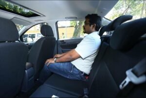 BAIC D20 Micro Sedan Rear seats