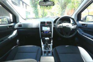 BAIC D20 Micro Sedan front cabin full interior view