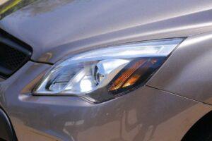 BAIC D20 Micro Sedan front headlamps