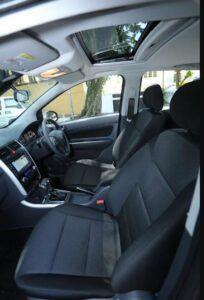 BAIC D20 Micro Sedan front seats