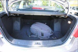 BAIC D20 Micro Sedan luggage area view