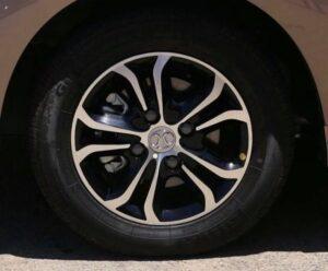 BAIC D20 Micro Sedan wheels view